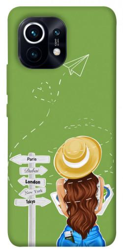 Чехол itsPrint Travel girl для Xiaomi Mi 11