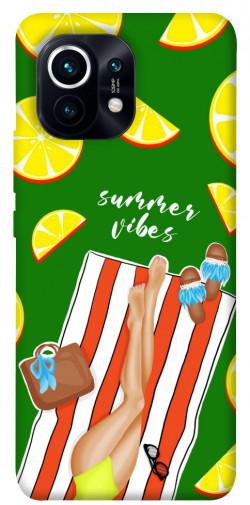 Чехол itsPrint Summer girl для Xiaomi Mi 11