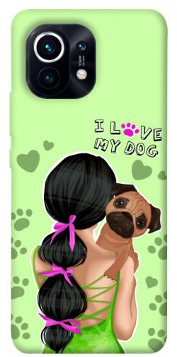 Чехол itsPrint Love my dog для Xiaomi Mi 11