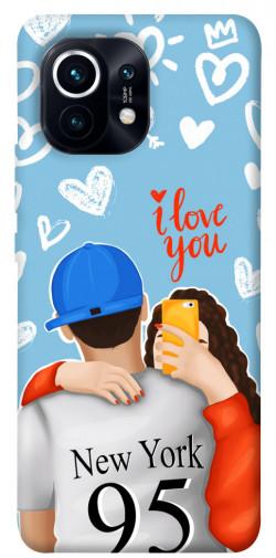 Чехол itsPrint Forever end ever для Xiaomi Mi 11
