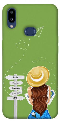 Чехол itsPrint Travel girl для Samsung Galaxy M01s