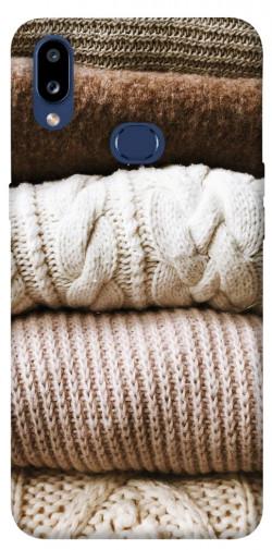 Чехол itsPrint Knitted aesthetics для Samsung Galaxy M01s