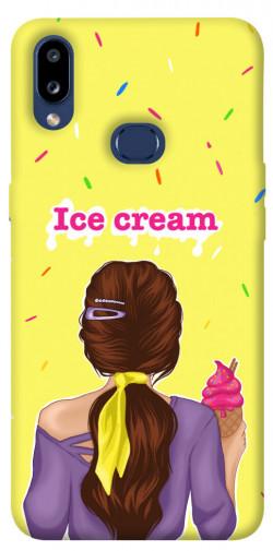 Чехол itsPrint Ice cream girl для Samsung Galaxy M01s