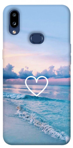 Чехол itsPrint Summer heart для Samsung Galaxy M01s