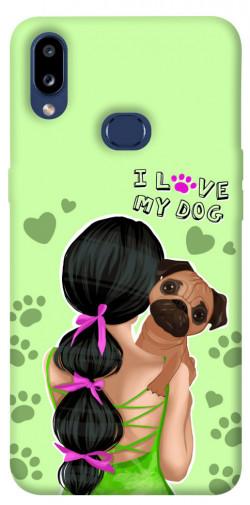 Чехол itsPrint Love my dog для Samsung Galaxy M01s
