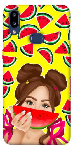 Чехол itsPrint Watermelon girl для Samsung Galaxy M01s