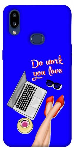Чехол itsPrint Do work you love для Samsung Galaxy M01s