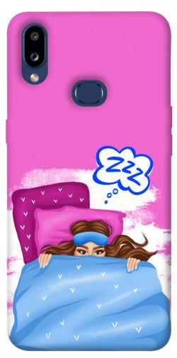 Чехол itsPrint Sleepу girl для Samsung Galaxy M01s