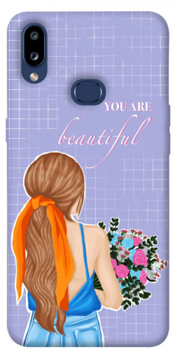 Чехол itsPrint You are beautiful для Samsung Galaxy M01s