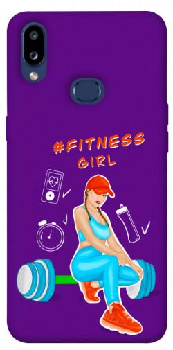 Чехол itsPrint Fitness girl для Samsung Galaxy M01s