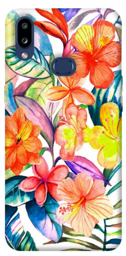 Чехол itsPrint Цветочный коктейль для Samsung Galaxy M01s