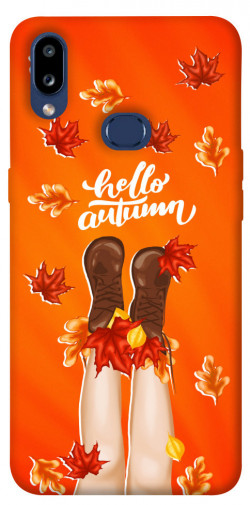Чехол itsPrint Hello autumn для Samsung Galaxy M01s