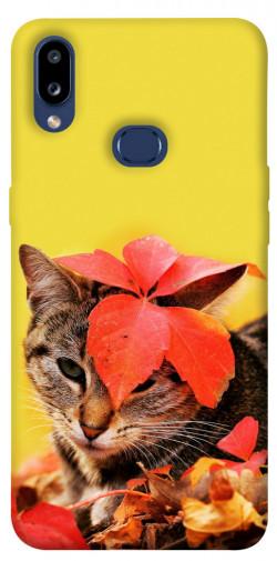 Чехол itsPrint Осенний котик для Samsung Galaxy M01s