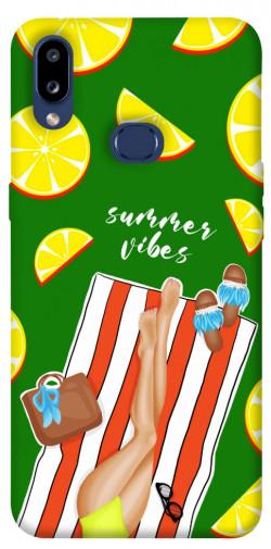 Чехол itsPrint Summer girl для Samsung Galaxy M01s