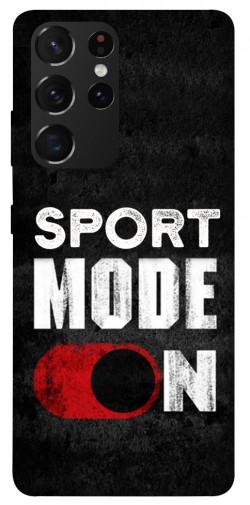 Чехол itsPrint Sport mode on для Samsung Galaxy S21 Ultra