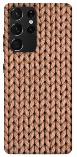 Чехол itsPrint Knitted texture для Samsung Galaxy S21 Ultra