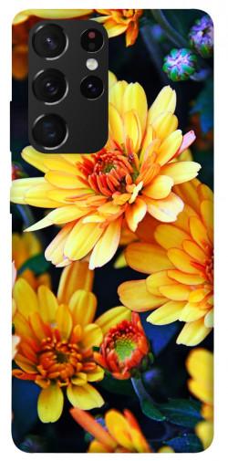 Чехол itsPrint Yellow petals для Samsung Galaxy S21 Ultra