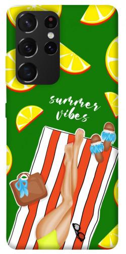 Чехол itsPrint Summer girl для Samsung Galaxy S21 Ultra