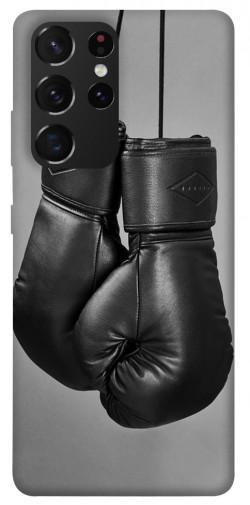 Чехол itsPrint Черные боксерские перчатки для Samsung Galaxy S21 Ultra