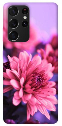 Чехол itsPrint Нежная хризантема для Samsung Galaxy S21 Ultra
