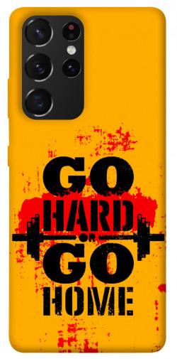 Чехол itsPrint Go hard для Samsung Galaxy S21 Ultra