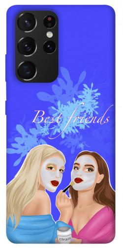Чехол itsPrint Best friends для Samsung Galaxy S21 Ultra