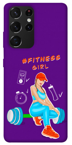 Чехол itsPrint Fitness girl для Samsung Galaxy S21 Ultra