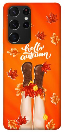 Чехол itsPrint Hello autumn для Samsung Galaxy S21 Ultra