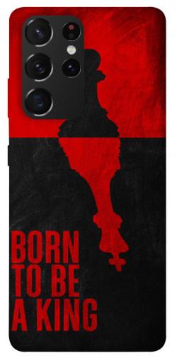 Чехол itsPrint Born to be a king для Samsung Galaxy S21 Ultra