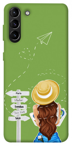 Чехол itsPrint Travel girl для Samsung Galaxy S21+