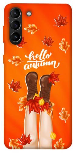 Чехол itsPrint Hello autumn для Samsung Galaxy S21+