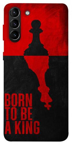 Чехол itsPrint Born to be a king для Samsung Galaxy S21+