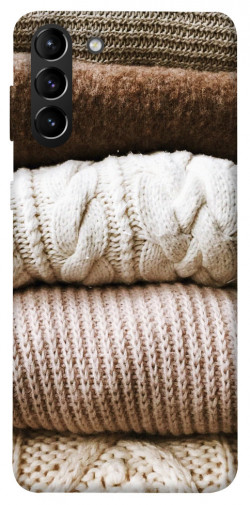 Чехол itsPrint Knitted aesthetics для Samsung Galaxy S21+