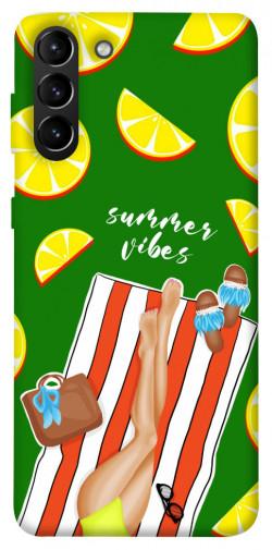 Чехол itsPrint Summer girl для Samsung Galaxy S21+