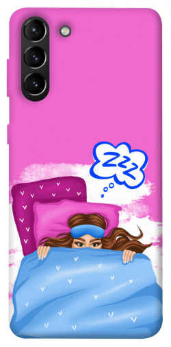 Чехол itsPrint Sleepу girl для Samsung Galaxy S21+