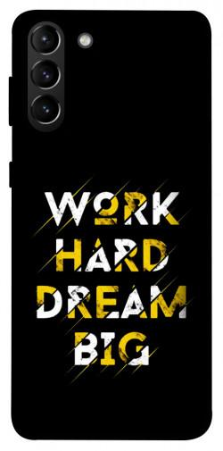 Чехол itsPrint Work hard для Samsung Galaxy S21+