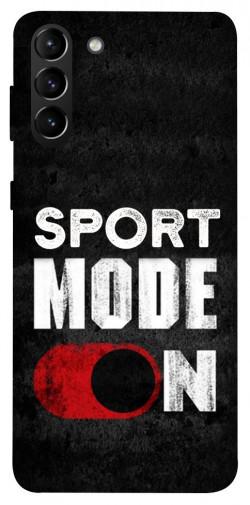 Чехол itsPrint Sport mode on для Samsung Galaxy S21+