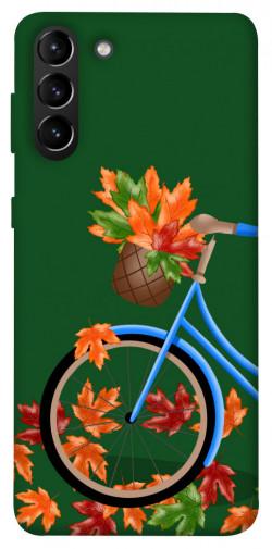 Чехол itsPrint Осенняя прогулка для Samsung Galaxy S21+