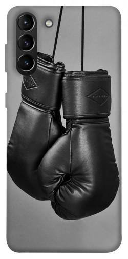Чехол itsPrint Черные боксерские перчатки для Samsung Galaxy S21+