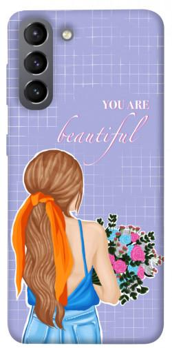 Чехол itsPrint You are beautiful для Samsung Galaxy S21