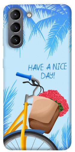Чехол itsPrint Have a nice day для Samsung Galaxy S21