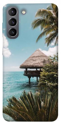 Чехол itsPrint Тропический остров для Samsung Galaxy S21