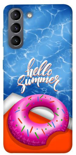 Чехол itsPrint Hello summer для Samsung Galaxy S21