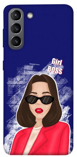 Чехол itsPrint Girl boss для Samsung Galaxy S21