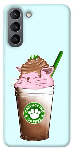 Чехол itsPrint Catpuccino для Samsung Galaxy S21