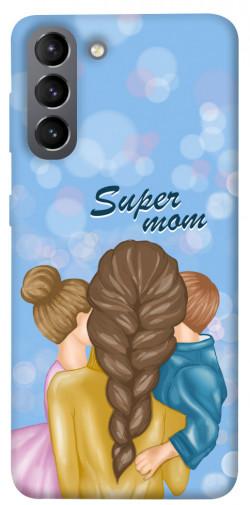 Чехол itsPrint Super mommy для Samsung Galaxy S21