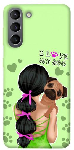 Чехол itsPrint Love my dog для Samsung Galaxy S21