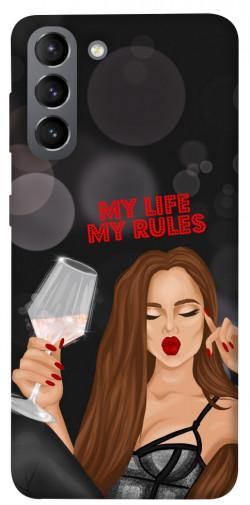 Чехол itsPrint My life my rules для Samsung Galaxy S21