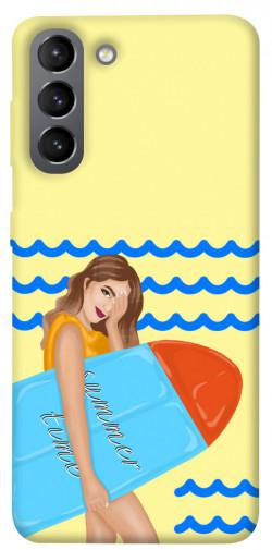 Чехол itsPrint Summer time для Samsung Galaxy S21