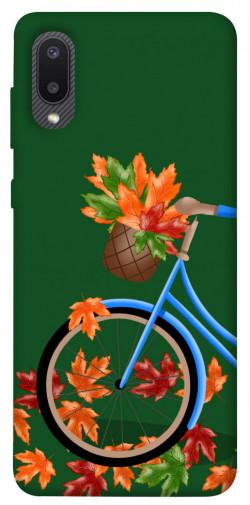 Чехол itsPrint Осенняя прогулка для Samsung Galaxy A02
